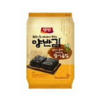 DONGWON Seaweed YangBAN packed lunch laver Sesame oil 5g, DONGWON